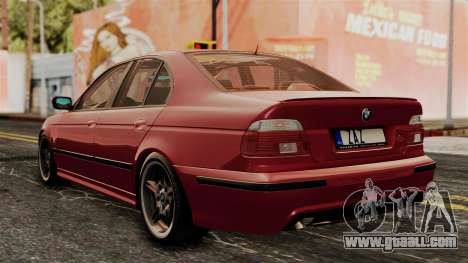 BMW 530D E39 2001 Mtech for GTA San Andreas left view