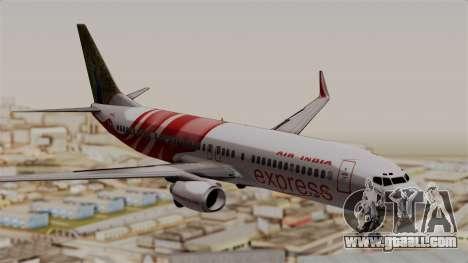 Boeing 737-800 Air India Express for GTA San Andreas