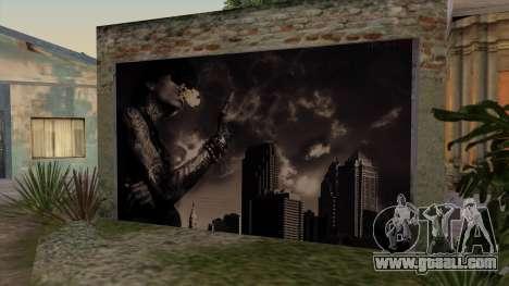 Johnson House Garage - Wiz Khalifa for GTA San Andreas second screenshot