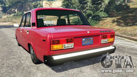 GTA 5 VAZ-2107 [Beta] rear left side view