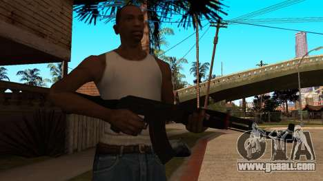 AK-47 Red Line from CS:GO for GTA San Andreas third screenshot