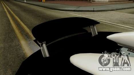 Bugatti Veyron 16.4 2013 Dubai Police for GTA San Andreas inner view
