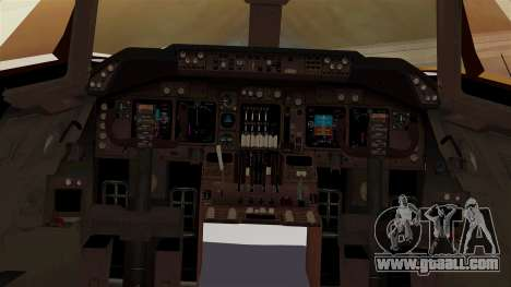 Boeing 747-100 UPS Old for GTA San Andreas inner view