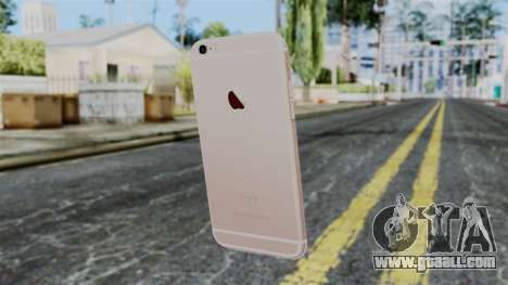 iPhone 6S Rose Gold for GTA San Andreas second screenshot