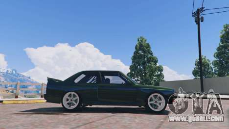 GTA 5 1991 BMW E30 Drift Edition v1.1 left side view