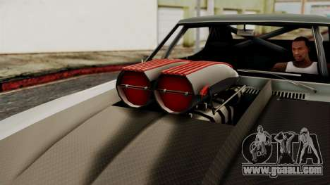 Chevrolet Camaro Drag Street for GTA San Andreas right view