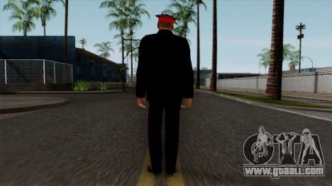 Vice-Sergeant Kazan Suvorov military School v1 for GTA San Andreas third screenshot