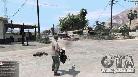 GTA 5 TF2 Heavy Minigun second screenshot
