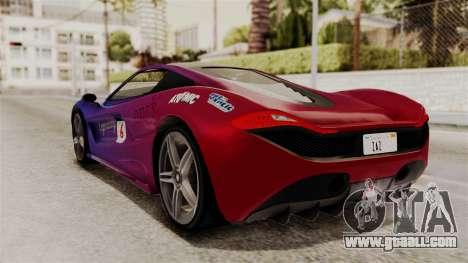 GTA 5 Progen T20 IVF for GTA San Andreas bottom view