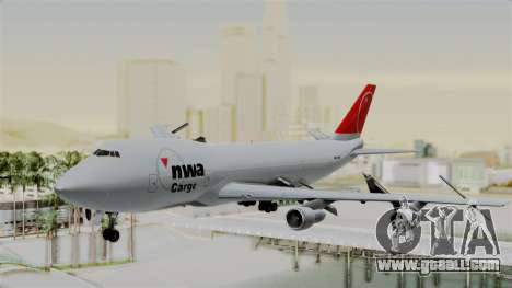 Boeing 747 Northwest Cargo for GTA San Andreas
