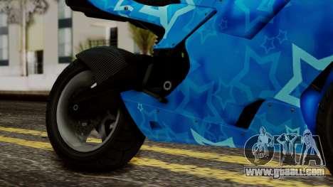 Bati VIP Star Motorcycle for GTA San Andreas right view