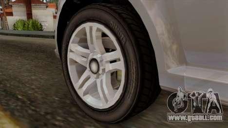 GTA 5 Declasse Asea for GTA San Andreas back left view