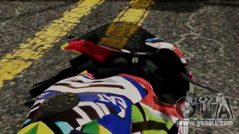 Bati Motorcycle JDM Edition for GTA San Andreas right view