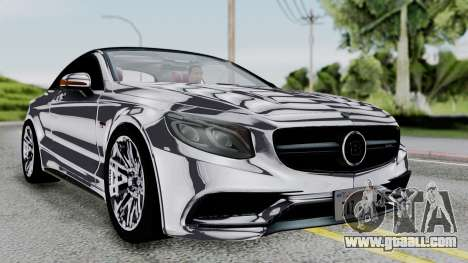 Brabus 850 Chrome for GTA San Andreas