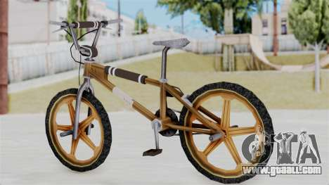 Retro BMX from Bully for GTA San Andreas left view