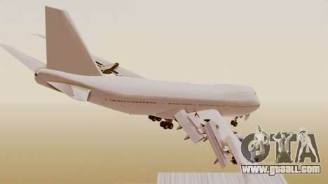 Boeing 747 Template for GTA San Andreas left view