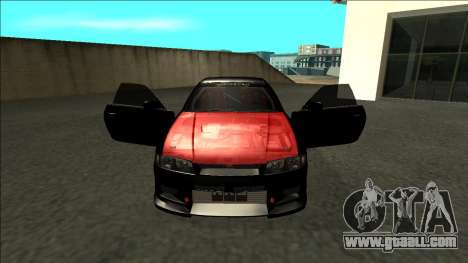 Nissan Skyline R33 Monster Energy for GTA San Andreas inner view