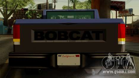 Bobcat from Vice City Stories IVF for GTA San Andreas upper view