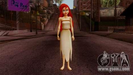 Ariel Mermaid for GTA San Andreas second screenshot