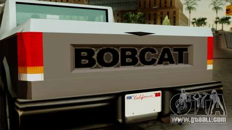 Bobcat from Vice City Stories for GTA San Andreas right view