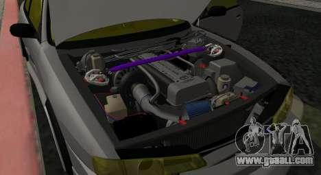 Nissan Silvia S14 JDM v0.1 for GTA San Andreas back view