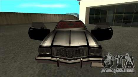 Ford Gran Torino Drift for GTA San Andreas inner view