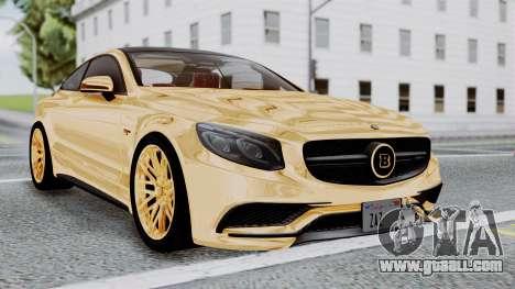 Brabus 850 Gold for GTA San Andreas