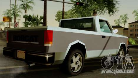 Bobcat from Vice City Stories for GTA San Andreas left view