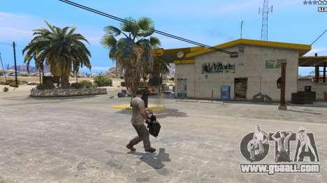 GTA 5 TF2 Heavy Minigun third screenshot