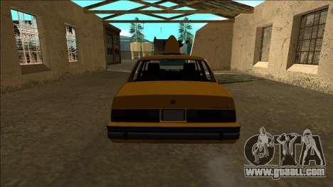 Willard Taxi for GTA San Andreas right view