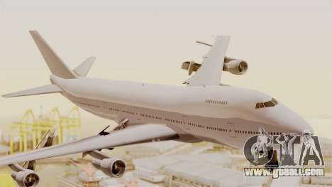 Boeing 747 Template for GTA San Andreas