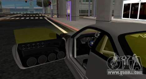 Nissan Silvia S14 JDM v0.1 for GTA San Andreas back left view