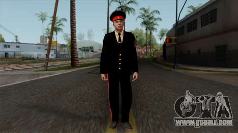 Vice-Sergeant Kazan Suvorov military School v1 for GTA San Andreas second screenshot