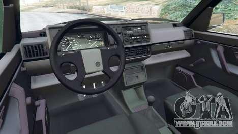 GTA 5 Volkswagen Golf Mk2 GTI right side view