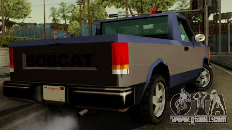 Bobcat from Vice City Stories IVF for GTA San Andreas left view