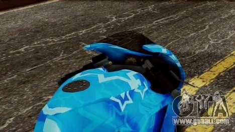 Bati VIP Star Motorcycle for GTA San Andreas back view
