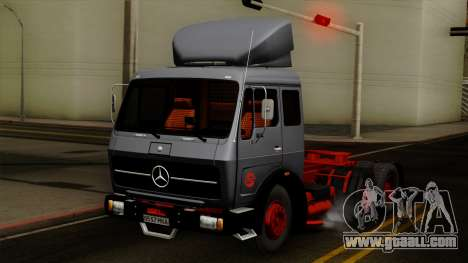 Mercedes-Benz Truck 4x6 for GTA San Andreas