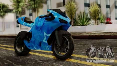 Bati VIP Star Motorcycle for GTA San Andreas