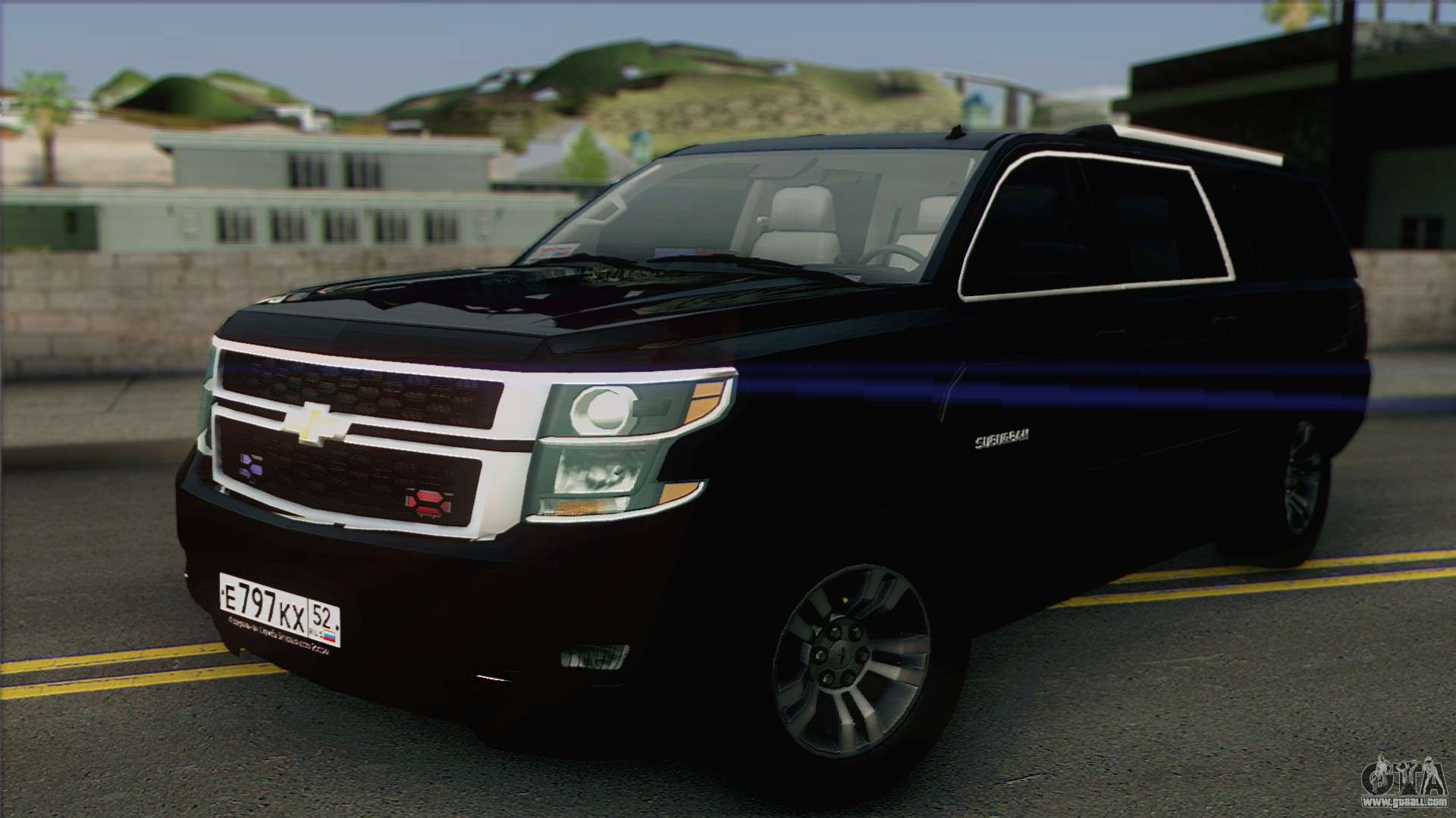 Chevrolet Suburban FSB for GTA San Andreas
