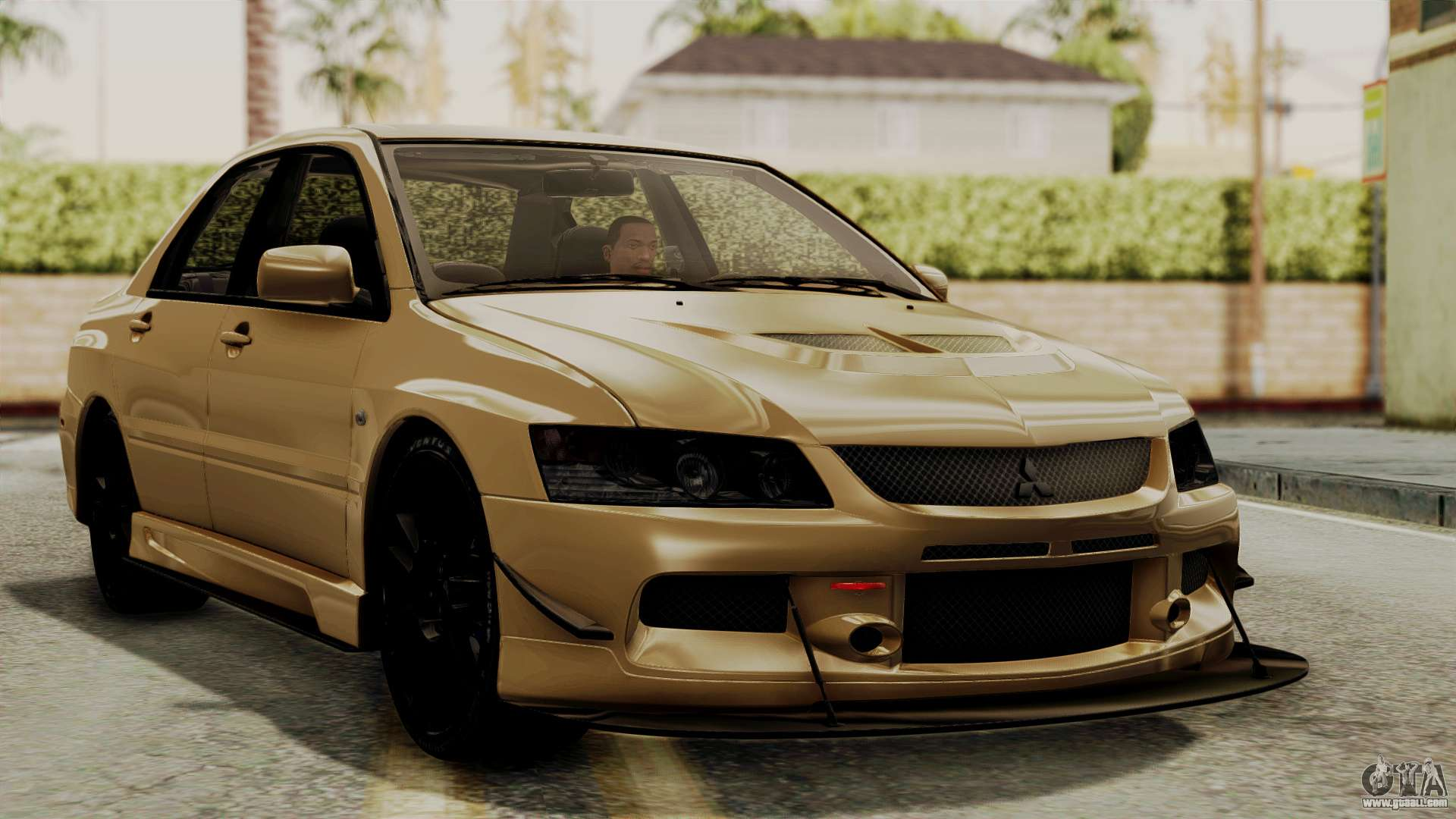 mitsubishi lancer evolution ix mr 2006 for gta san andreas. Black Bedroom Furniture Sets. Home Design Ideas