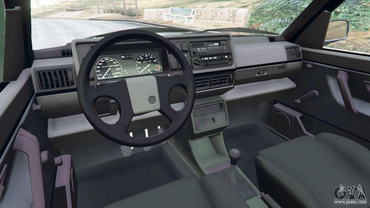 Volkswagen Golf Mk2 Gti For Gta 5