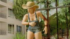 Dead Or Alive 5 Tina Overalls for GTA San Andreas
