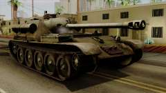 SU-101 122mm from World of Tanks