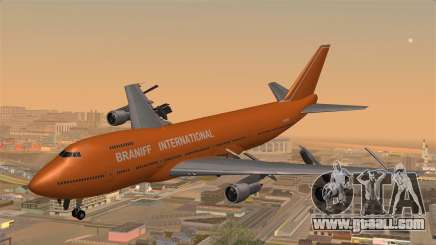 Boeing 747 Braniff for GTA San Andreas