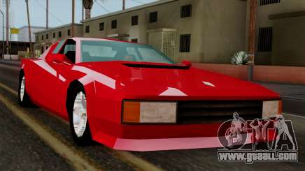 Cheetah from Vice City Stories for GTA San Andreas