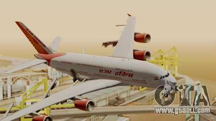 Airbus A380-861 Air India for GTA San Andreas