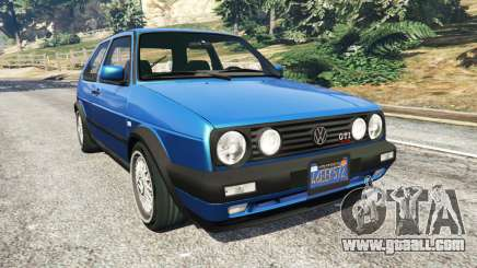 Volkswagen Golf Mk2 GTI for GTA 5