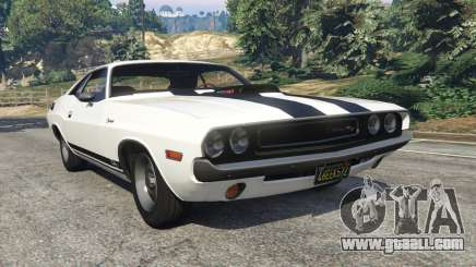 Dodge Challenger RT 440 1970 v1.0 for GTA 5