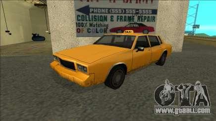 Tahoma Taxi for GTA San Andreas
