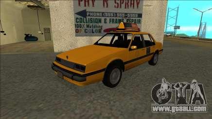 Willard Taxi for GTA San Andreas